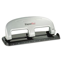 Three-Hole Punch 20 Sheet Capacity BlackSilver (ACI2220)