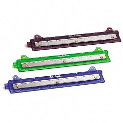 "Three-Sheet Three-Hole Portable Punch 932"" Diameter Hole Assorted Colors (SWI74042)"