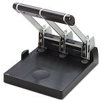 "150-Sheet XHC-150 Heavy-Duty Three-Hole Punch 932"" Diameter Hole BlueGray (CUI63150)"