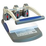 "300-Sheet Heavy-Duty Two- to Three-Hole Punch 932"" Diameter Hole BlueGray (MCG58000)"
