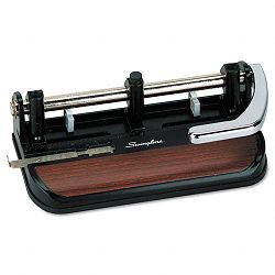"40-Sheet Heavy-Duty Lever Action Two- to Seven-Hole Punch 1132"" Holes (SWI74400)"