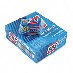 "S.O.S All-Surface Scrubbing Sponge 3"" x 5-14"" 1"" Thick Carton of 24 (COX91028CT)"