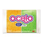 "O-Cel-O Sponge with 3M Stayfresh Technology 4-710"" x 3"" x 35"" Pack of 4 (MMM7274T)"
