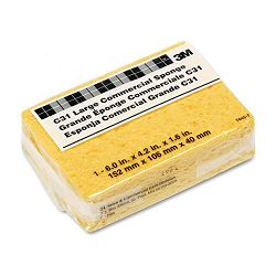 Commercial Cellulose Sponge Yellow 4-14 x 6 (MMMC31)