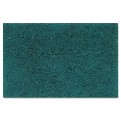 "Medium Duty Scour Pad Green 6"" x 9"" Carton of 20 (PMP196)"