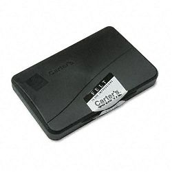 "Felt Stamp Pad 4 14"" x 2 34"" Black (AVE21081)"