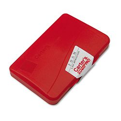 "Foam Stamp Pad 4 14"" x 2 34"" Red (AVE21371)"