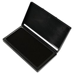 "Microgel Stamp Pad for 2000 PLUS 2 34"" x 4 14"" Black (COS030253)"