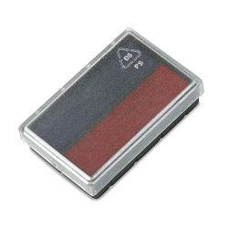 Replacement Ink Pad for 2000 PLUS Micro Date BlueRed (COS062072)