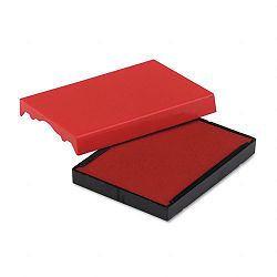 "Trodat T4727 Dater Replacement Pad 1-58"" x 2-12"" Red (USSP4727RD)"