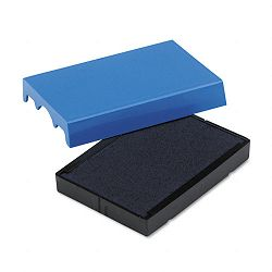 "Trodat T4729 Dater Replacement Pad 1-916"" x 2"" Blue (USSP4729BL)"