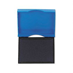 "Trodat T4750 Stamp Replacement Pad 1"" x 1-58"" Blue (USSP4750BL)"