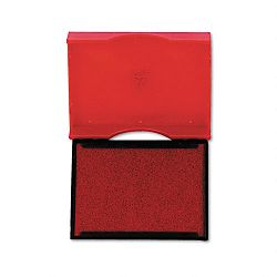 "Trodat T4750 Stamp Replacement Pad 1"" x 1-58"" Red (USSP4750RD)"