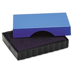 "Trodat T4911 Message Replacement Pad 916"" x 1 12"" Blue (USSP4911BL)"