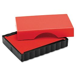 "Trodat T4911 Message Replacement Pad 916"" x 1 12"" Red (USSP4911RE)"