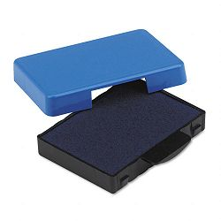 "Trodat T5430 Stamp Replacement Ink Pad 1"" x 1-58"" Blue (USSP5430BL)"