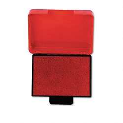 "Trodat T5430 Stamp Replacement Ink Pad 1"" x 1-58"" Red (USSP5430RD)"