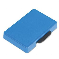 "Trodat T5460 Dater Replacement Ink Pad 1-38"" x 2-38"" Blue (USSP5460BL)"