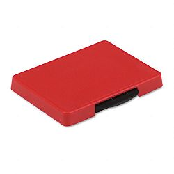 "Trodat T5460 Dater Replacement Ink Pad 1-38"" x 2-38"" Red (USSP5460RD)"