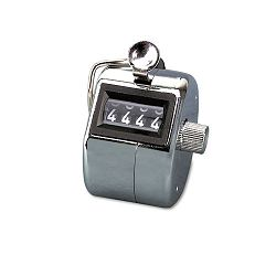 Tally I Hand Model Tally Counter Registers 0-9999 Chrome (AVT9841000)