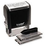 "Self-Inking Do It Yourself Message Stamp 34"" x 1 78"" (USS5915)"