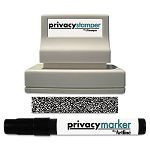 "Secure Stamp S10 with Marker 12 Inch x 1 58"" Black (XST35302)"