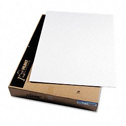 "CFC-Free Polystyrene Foam Board 40"" x 30"" White Surface and Core Carton of 25 (EPI900510)"