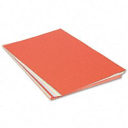 "Assorted Colors Tagboard 36"" x 24"" BlueCanaryGreenOrangePink Pack of 100 (PAC5177)"