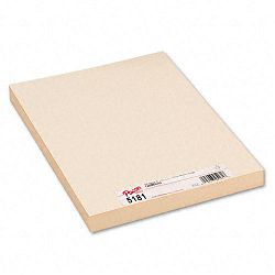 "Medium Weight Tagboard 12"" x 9"" Manila Pack of 100 (PAC5181)"