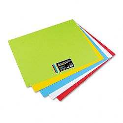 "Astrobrights Premium Poster Board 28"" x 22"" Five Assorted Colors Carton of 50 (WAU22057)"
