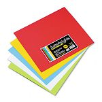 "Astrobrights Premium Poster Board 14"" x 12"" Five Assorted Colors Carton of 50 (WAU22058)"