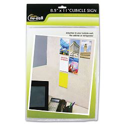 "Clear Plastic Sign Holder All-Purpose 8 12"" x 11"" (NUD37085Z)"