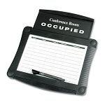 "Dry-Erase Conference Room Scheduler 15 12"" x 14 14"" White Gray Frame (QRT995)"