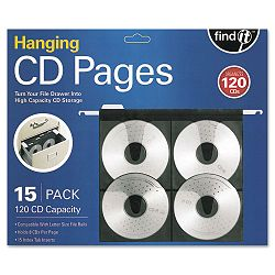Hanging CD Pages Pack of 15 (IDEFT07069)