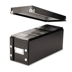 CD Storage Box Holds 60 Slim30 Standard Cases (IDESNS01521)