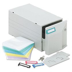 CDDVD Storage Drawer Holds 150 Disks (IVR39501)