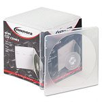 Slim CD Case Clear Pack of 25 (IVR81900)