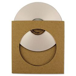 ReSleeve CD Sleeves with View Window Pack of 25 (REBRSLVVCS25)