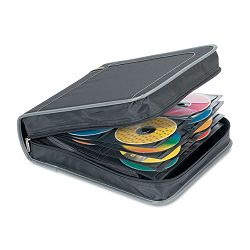 CityGear CDDVD Wallet Holds 240 Disks BlackGray (TRGTDP018US)