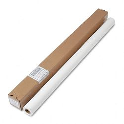 "Table Set Plastic Banquet Roll Table Cover 40"" x 100' White (TBLI4010WH)"