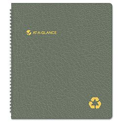 "Recycled Monthly Planner Black 9"" x 11"" (AAG70260G05)"