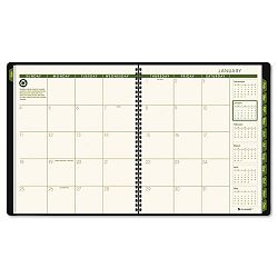 "Recycled Monthly Planner Green 9"" x 11"" (AAG70260G60)"