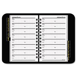 "TelephoneAddress Book 4-78"" x 8"" Black (AAG8001105)"