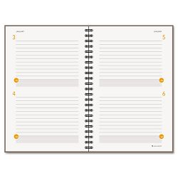 "Two-Days-Per-Page Planning Notebook, Gray, 8 1/2"" x 11"" by AT-A-GLANCE (AAG80620430)"