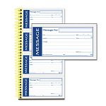 "Write 'n Stick Phone Message Pad 5-14"" x 2-34"" Two-Part Carbonless 200 Forms (ABFSC1153WS)"