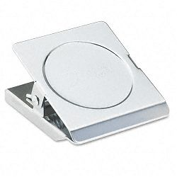 "Magnetic Clip Steel 1-18"" Capacity 2-14""w Chrome (ACC72133)"