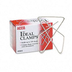"Ideal Clamps Steel Wire Large 2-58"" Silver Box of 12 (ACC72610)"
