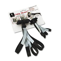"Cable Wrapz Cable Organizer Stretch to Fit 6"" Non-Conductive Write-On (ALL07735)"