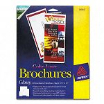 "Brochure Paper Glossy 8-12"" x 11"" White 50 SheetsPack (AVE5884)"