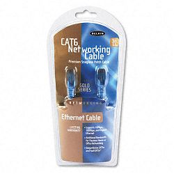 High Performance CAT6 UTP Patch Cable 3 ft. Blue (BLKA3L98003BLUS)